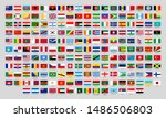 world national flags. official... | Shutterstock .eps vector #1486506803