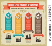 infographic business concept  ... | Shutterstock .eps vector #148654874