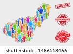 democrat granada province map... | Shutterstock .eps vector #1486558466