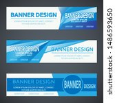 modern banner design. for... | Shutterstock .eps vector #1486593650
