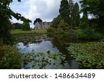 Large Country House Across Lake