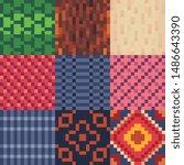 abstract seamless pattern... | Shutterstock .eps vector #1486643390