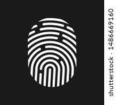 vector logotype. identification ... | Shutterstock .eps vector #1486669160
