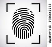 vector logotype. identification ... | Shutterstock .eps vector #1486669163