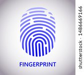 vector logotype. identification ... | Shutterstock .eps vector #1486669166