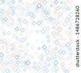 rhombus backdrop minimal... | Shutterstock .eps vector #1486728260