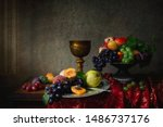 Fruit Still Life In Baroque...