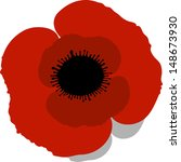 red poppy | Shutterstock .eps vector #148673930