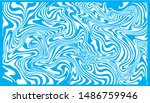 liquid texture of blue and... | Shutterstock .eps vector #1486759946