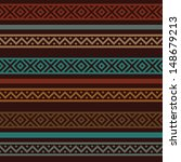 motley ethnic seamless pattern. ...   Shutterstock .eps vector #148679213