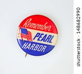 Постер, плакат: Patriotic Remember Pearl Harbor