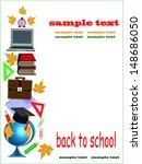 back to school school...   Shutterstock .eps vector #148686050