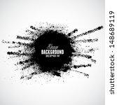 vector tire track grunge... | Shutterstock .eps vector #148689119