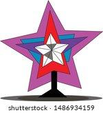 tree star vector from logo