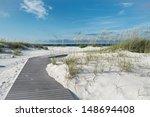 Small Rustic Boardwalk Footpat...