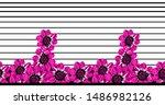 Seamless Vintage Textile Floral ...