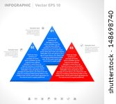 infographic template   color  ... | Shutterstock .eps vector #148698740