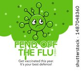 Text  Fend Off The Flu. Get...
