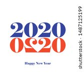 Happy New Year 2020. Greeting ...