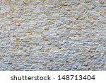 White Old Brick Wall