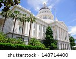Sacramento Capitol Building In...