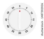 mechanical kitchen timer vector ...   Shutterstock .eps vector #1487202026