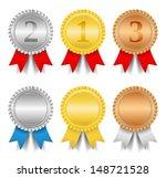 award ribbons | Shutterstock . vector #148721528