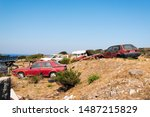 Wrecked And Abandoned Cars In...