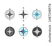 Compass Logo Template Vector...
