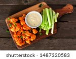 Cauliflower Buffalo Wings With...