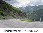 mountain road on the... | Shutterstock . vector #148732964