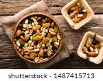 Healthy Trail Mix Snack Made O...