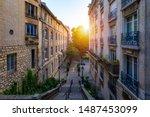 Montmartre District Of Paris....