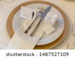 . serviced place for wedding... | Shutterstock . vector #1487527109