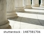 White Marble Neoclassical...