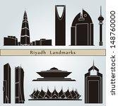 riyadh landmarks and monuments... | Shutterstock .eps vector #148760000