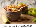 Apple Crumble Dessert With...
