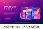 gps navigator  mobile app for... | Shutterstock .eps vector #1487653400