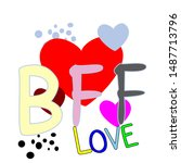 Bff Or Best Friend Forever Wit...