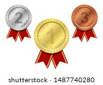 winner medal vector design... | Shutterstock .eps vector #1487740280