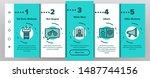 arrest onboarding mobile app... | Shutterstock .eps vector #1487744156