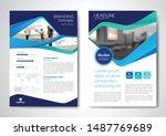 template vector design for... | Shutterstock .eps vector #1487769689