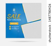 web banner and social media ads ... | Shutterstock .eps vector #1487780426