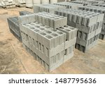 Pile Of Grey Stone Brick For...