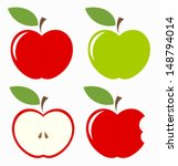 apple,art,bite,chaps,clip art,collection,cross,cut,design,diet,different,emblem,food,fresh,freshness