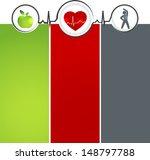 wellness and healthy heart... | Shutterstock . vector #148797788