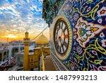 Imam ali Shrine clock gate - najaf - iraq