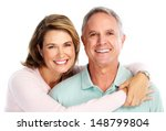 happy senior couple in love.... | Shutterstock . vector #148799804