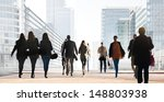 a large group of people on a... | Shutterstock . vector #148803938
