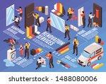 renovation repair remodeling...   Shutterstock .eps vector #1488080006